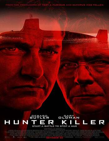Hunter Killer 2018 Hindi Dual Audio 650MB BluRay 720p ESubs HEVC
