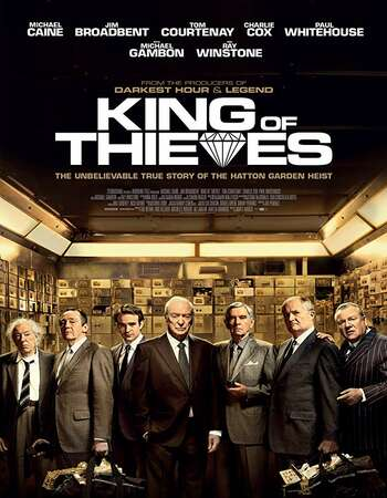 King of Thieves 2018 English 720p Web-DL 850MB