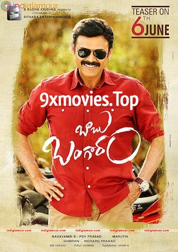 Babu Bangaram 2016 Dual Audio Hindi UNCUT 480p HDRip 400MB