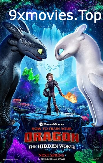 How To Train Your Dragon 3 (2019) English 480p HDCAM 300mb