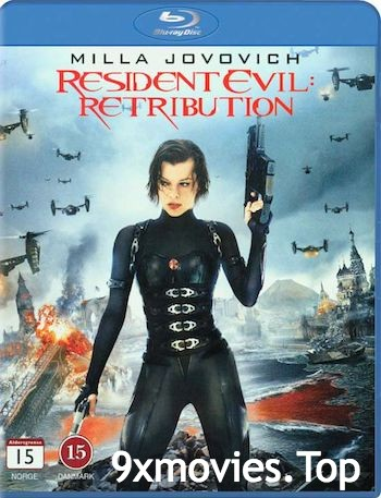 Resident Evil Retribution 2012 Dual Audio Hindi 720p BluRay 750mb