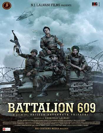 Battalion 609 2019 Hindi 700MB Pre-DVDRip x264
