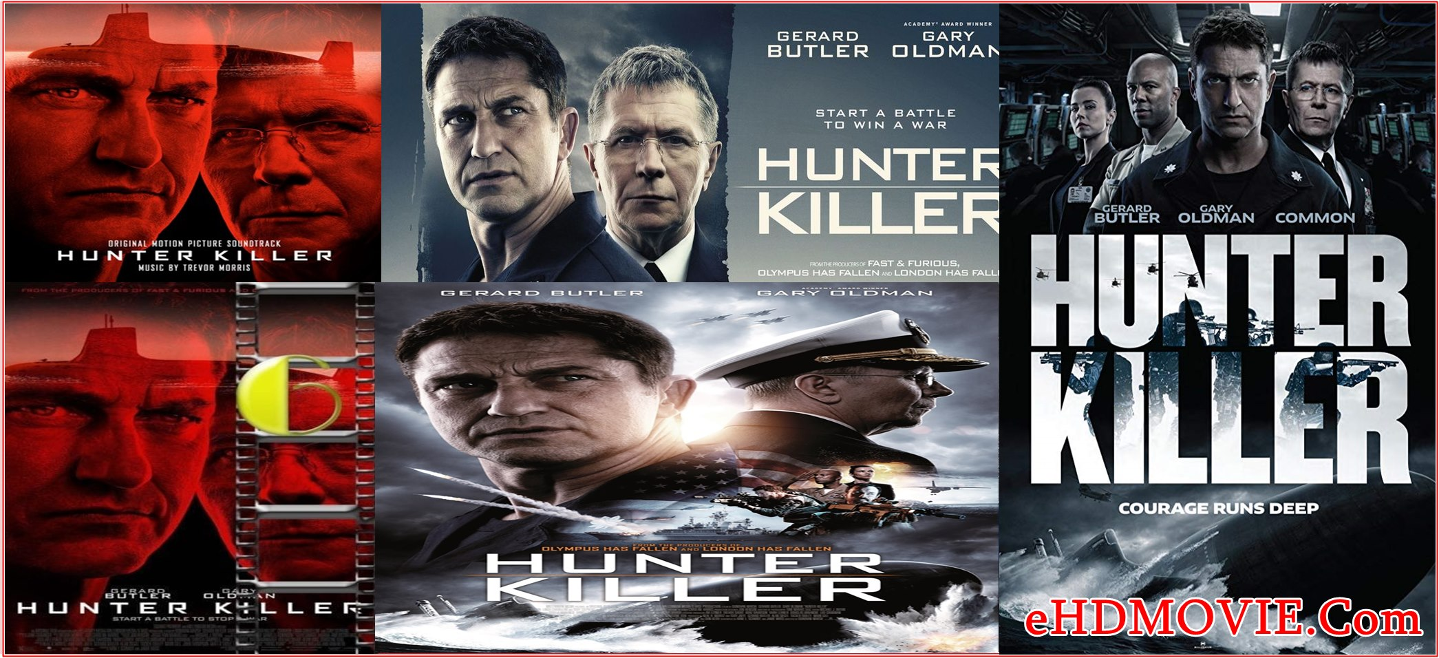 Hunter Killer 2018 Full Movie English 1080p – 720p – HEVC – 480p ORG BRRip 450MB – 700MB – 950MB – 2GB ESubs Free Download