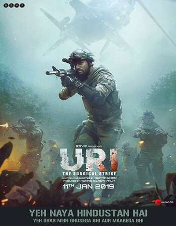 Uri The Surgical Strike 2019 Hindi 350MB Pre-DVDRip 480p