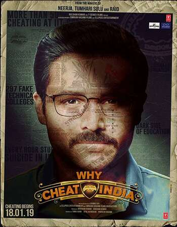 Why Cheat India 2019 Hindi 350MB Pre-DVDRip 480p