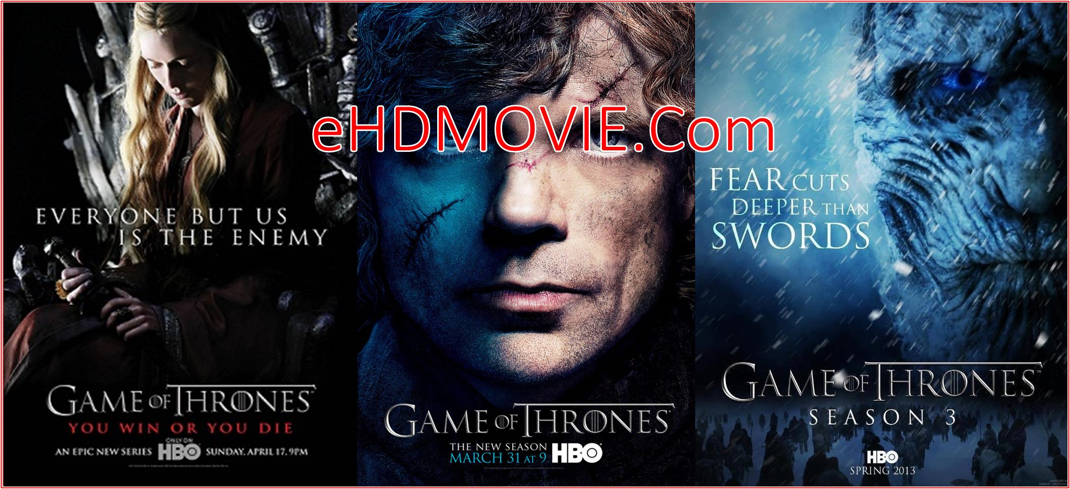 Game of Thrones Season S03 Complete Dual Audio 480p – 720p BRRip [Hindi – English] ESubs