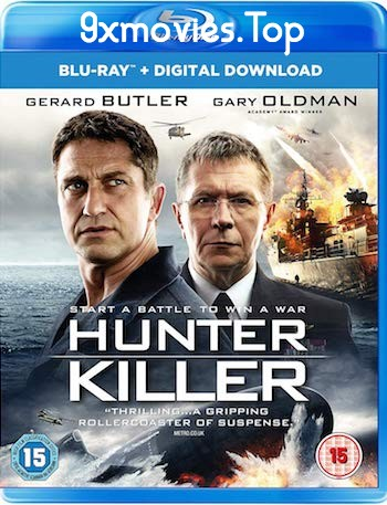 Hunter Killer 2018 English 480p BRRip 300MB ESubs