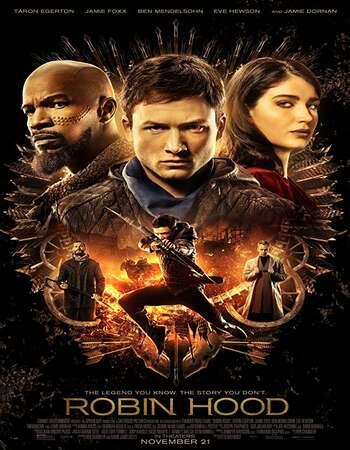 Robin Hood 2018 Hindi Dual Audio 350MB BluRay 480p ESubs