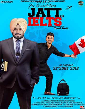 Jatt vs Ielts 2018 Punjabi 720p HDRip ESubs