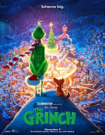 The Grinch 2018 Hindi ORG Dual Audio 450MB BluRay 720p ESubs HEVC