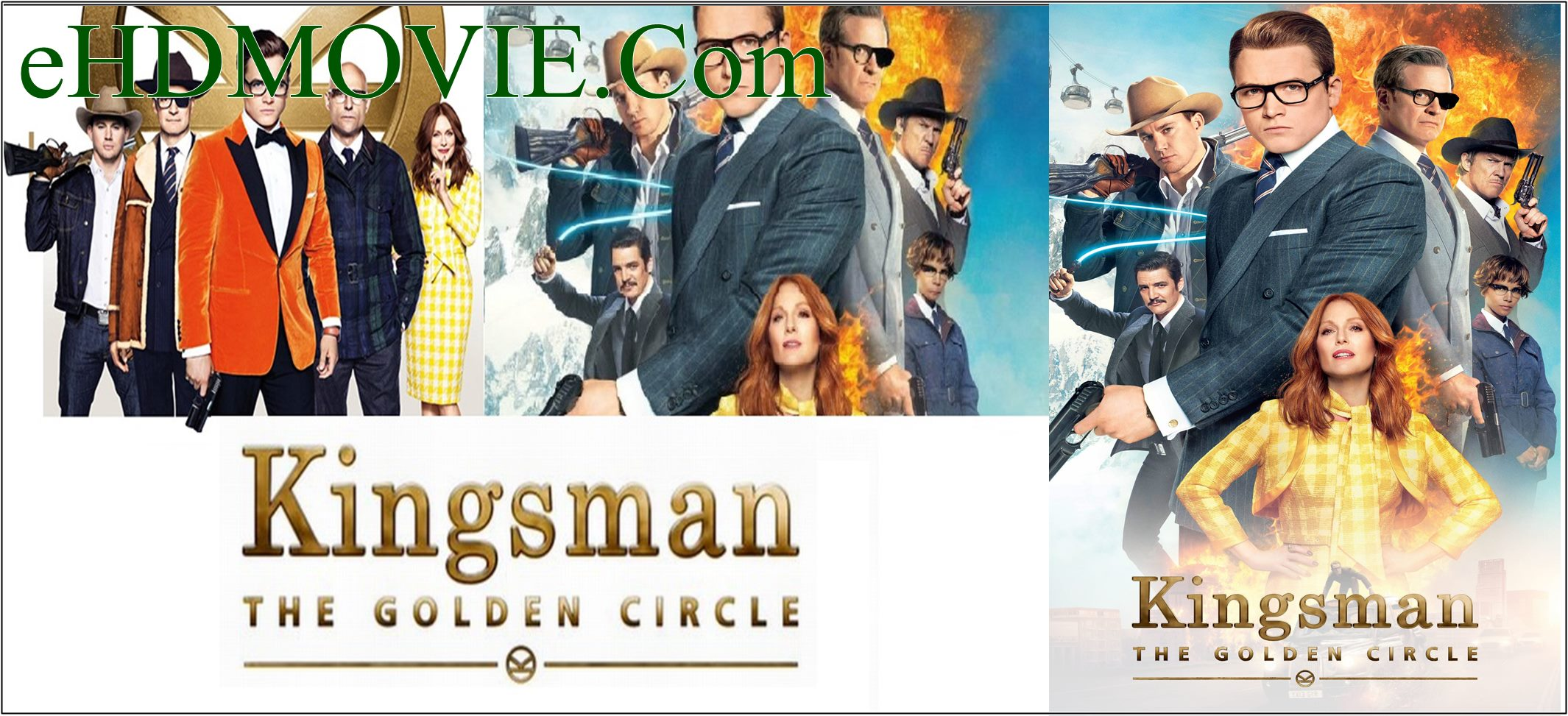 Kingsman The Golden Circle 2017 Full Movie Dual Audio [Hindi – English] 720p – 480p ORG BRRip 450MB – 1.2GB ESubs Free Download