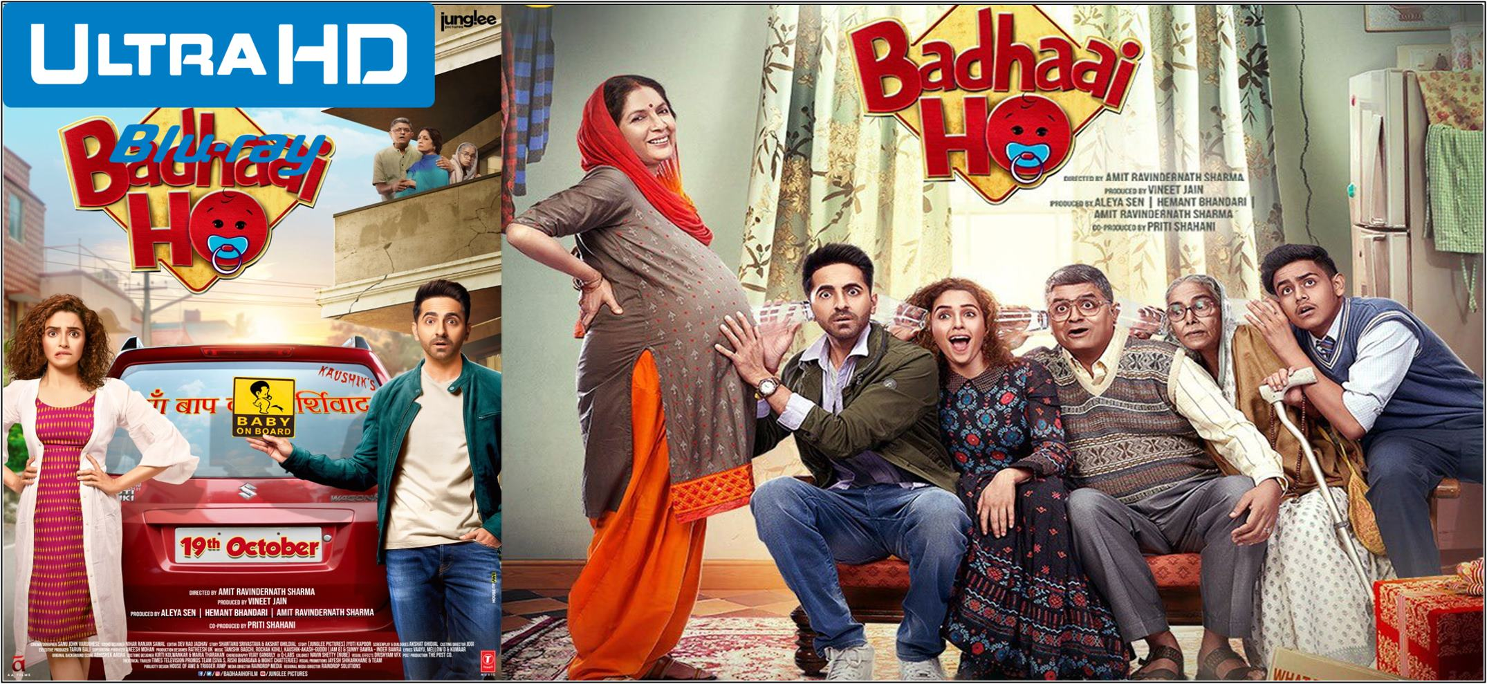 Badhaai Ho 2018 Full Movie Hindi 720p – 480p ORG BRRip 350MB – 1GB ESubs Free Download