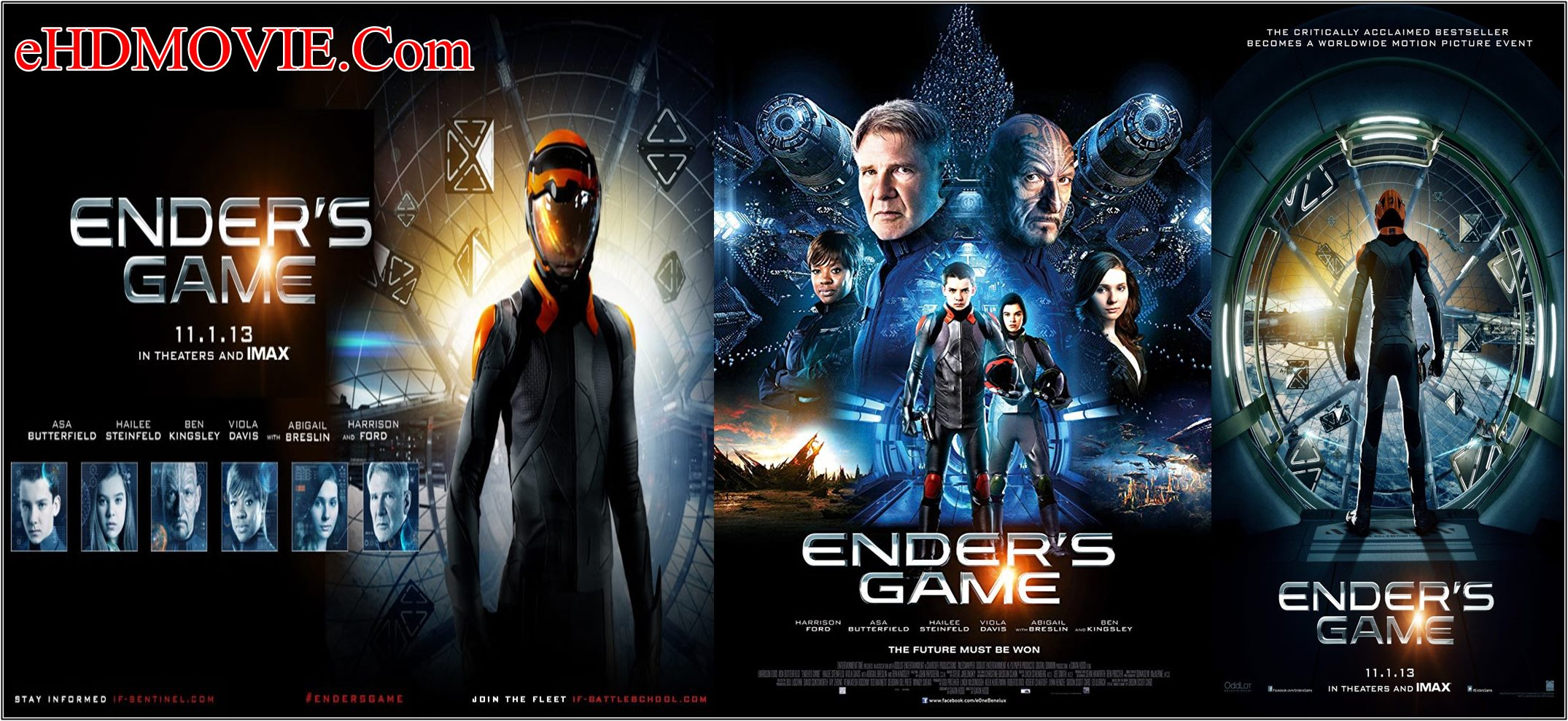 Ender's Game 2013 Full Movie Dual Audio [Hindi – English] 720p – 480p ORG BRRip 350MB – 950MB ESubs Free Download