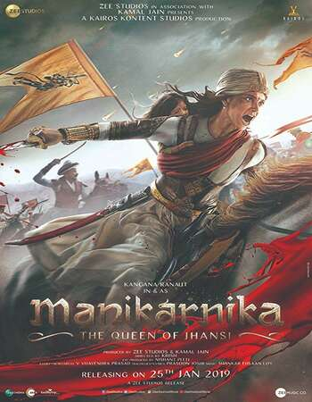 Manikarnika The Queen of Jhansi 2019 Full Hindi Movie 720p HEVC HDRip Download