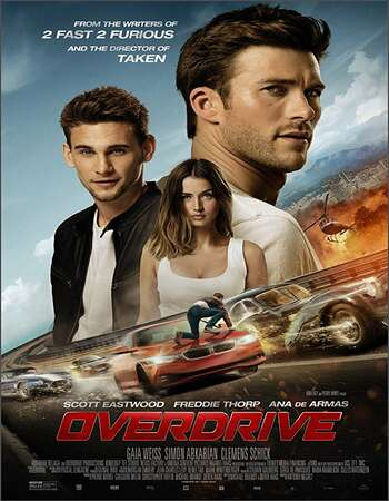 Overdrive 2017 Hindi Dual Audio BRRip Full Movie 720p HEVC Free Download