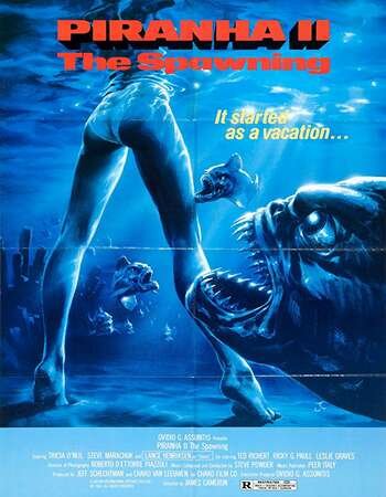 Piranha II The Spawning 1981 Hindi Dual Audio BRRip Full Movie 720p Free Download