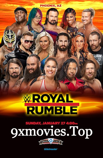 WWE Royal Rumble 2019 PPV WEBRip 480p x264 1.1GB