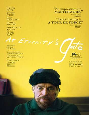 At Eternitys Gate 2018 English 720p Web-DL 850MB ESubs