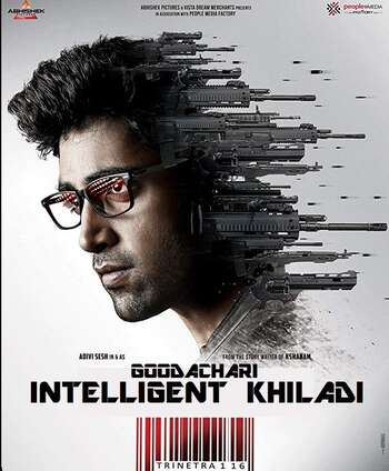 Goodachari 2018 UNCUT Hindi Dual Audio HDRip Full Movie 720p HEVC Free Download
