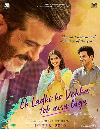 Ek Ladki Ko Dekha Toh Aisa Laga 2019 Full Hindi Movie 720p HDRip Download