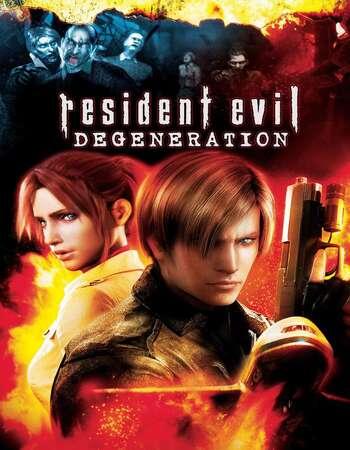 Resident Evil Degeneration 2008 Dual Audio Hindi English BluRay Full Movie Download HD