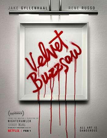 Velvet Buzzsaw 2019 English 720p NF Web-DL 850MB MSubs