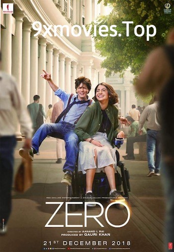 Zero 2018 Hindi 720p HDRip 1.1GB
