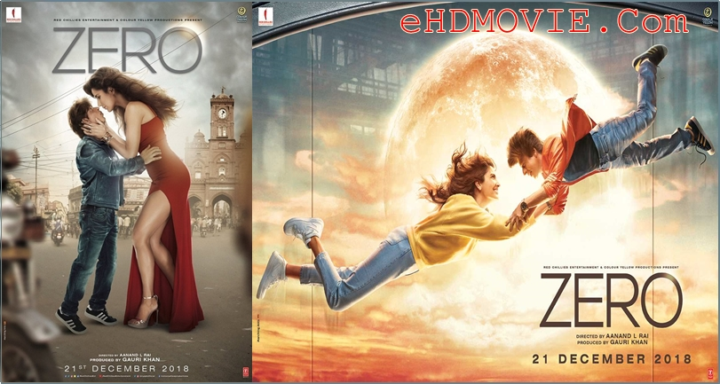 Zero 2018 Hindi 1080p – 720p – HEVC – 480p ORG WEB-DL 450MB – 750MB – 1.4GB – 2.5GB ESubs