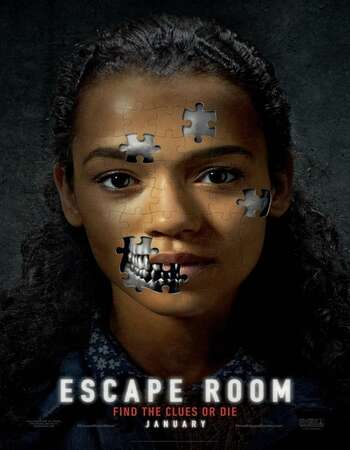 Escape Room 2019 Hindi Dual Audio BRRip Full Movie 720p Free Download