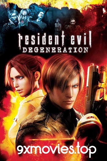 Resident Evil Degeneration 2008 Dual Audio Hindi 720p BluRay 800mb