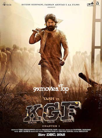 KGF Chapter 1 (2018) Hindi Dubbed 480p HDRip 450MB