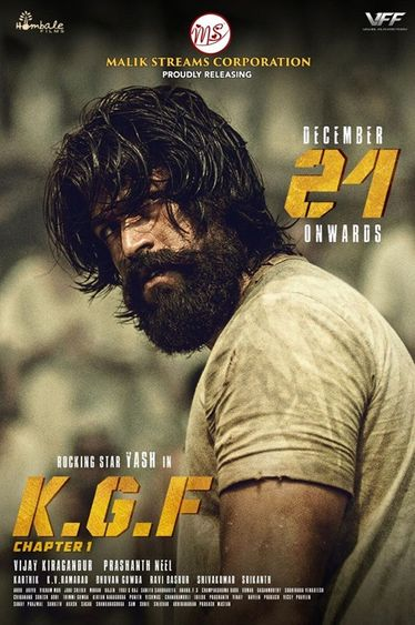 K.G.F Chapter 1 2018 Hindi 720p x265 WEB-DL 950MB DD5.1 ESubs