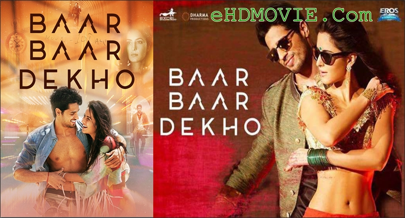 Baar Baar Dekho 2016 Hindi 720p – 480p ORG WEB-DL 550MB – 1.1GB ESubs