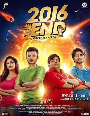 2016 the End 2017 Hindi 600MB HDRip 720p ESubs HEVC