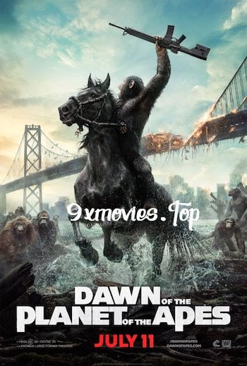 Dawn of the Planet of the Apes 2014 Dual Audio Hindi Bluray Movie Download