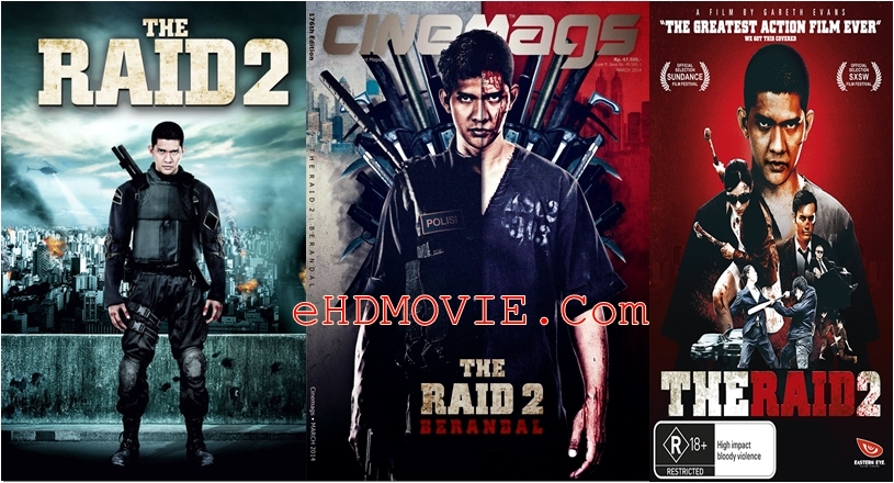 The Raid 2 2014 Dual Audio [Hindi – English] 720p – 480p ORG BRRip 450MB – 1.4GB ESubs