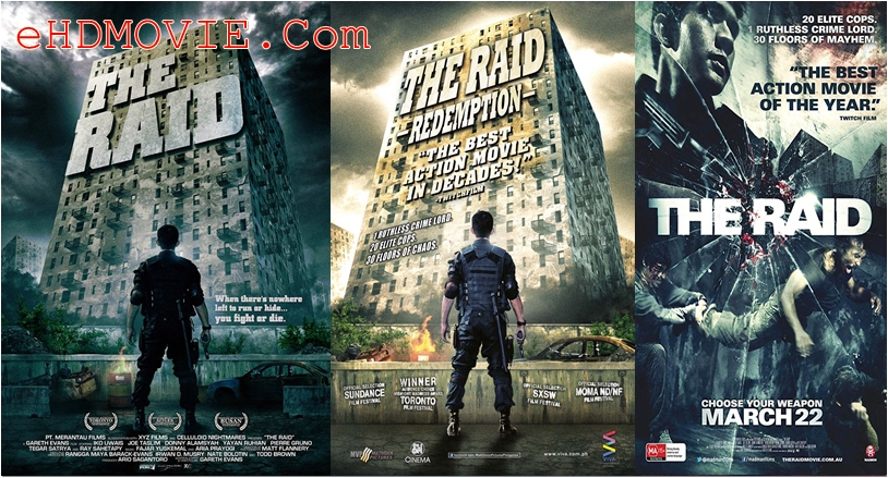 The Raid Redemption 2011 Dual Audio [Hindi – English] 720p – 480p ORG BRRip 350MB – 950MB ESubs