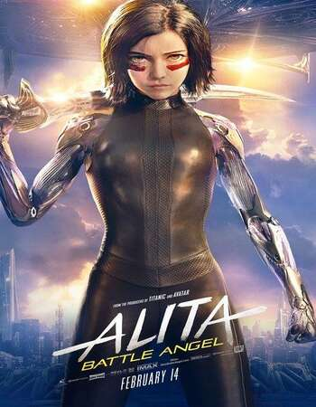 Alita Battle Angel 2019 Hindi Dual Audio HDRio Full Movie 720p HEVC Free Download