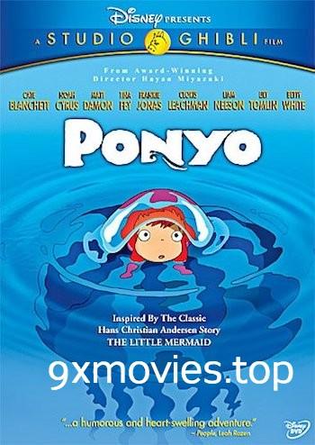 Ponyo 2008 Dual Audio Hindi 480p BluRay 300mb