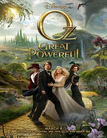 Oz the Great and Powerful 2013 Hindi Dual Audio 600MB BluRay 720p ESubs HEVC
