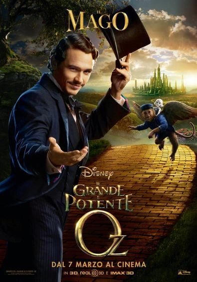 Oz the Great and Powerful 2013 Hindi Dual Audio 720p 1.2GB BluRay ESubs