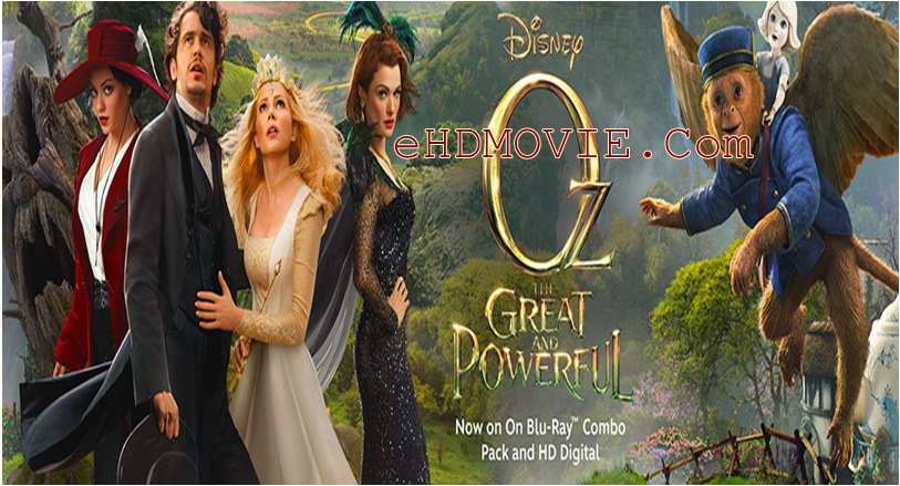 Oz the Great and Powerful 2013 Dual Audio [Hindi – English] 720p – HEVC – 480p ORG BRRip 450MB – 700MB – 1.3GB ESubs
