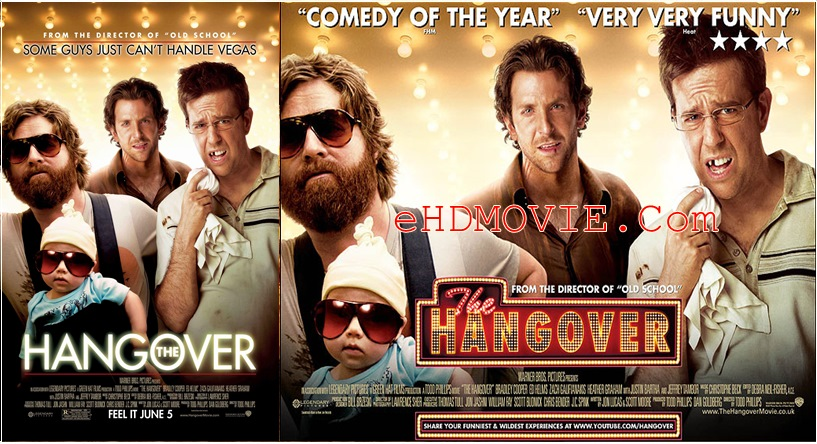 The Hangover 2009 Dual Audio [Hindi – English] 720p – 480p ORG BRRip 350MB – 850MB ESubs