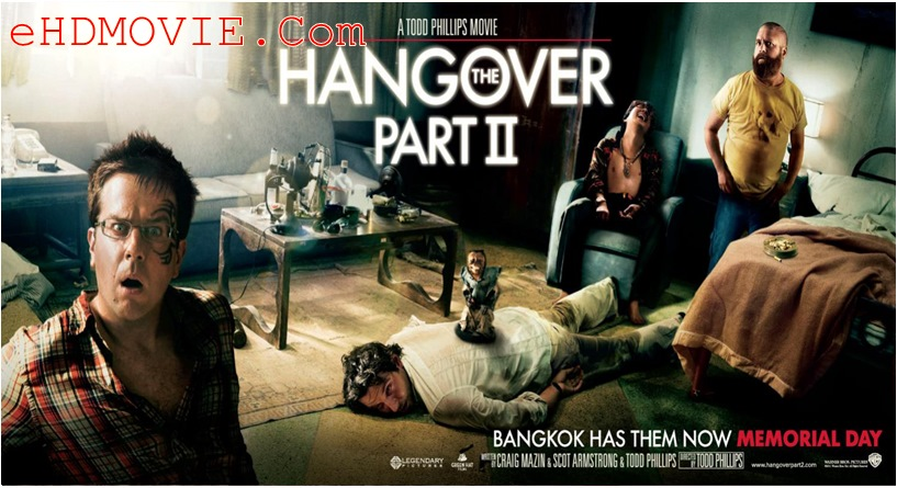 The Hangover Part II 2011 Dual Audio [Hindi – English] 720p – 480p ORG BRRip 350MB – 850MB ESubs