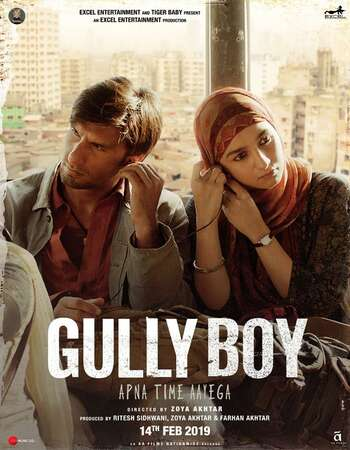 Gully Boy 2019 Hindi 700MB Pre-DVDRip x264