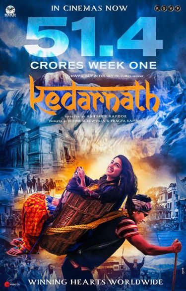 Kedarnath 2018 Hindi 720p WEB-DL 950MB x264