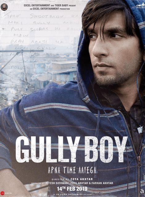 Gully Boy 2019 Hindi 700MB PreDVDRip x264