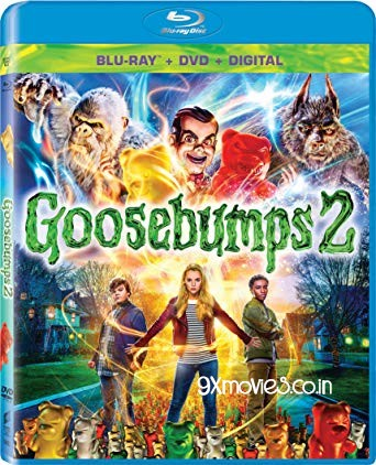 Goosebumps 2 Haunted Halloween (2018) Dual Audio ORG Hindi 480p BluRay 280mb