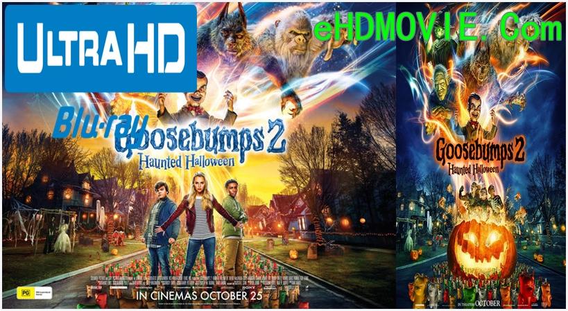 Goosebumps 2: Haunted Halloween 2018 Dual Audio [Hindi – English] 1080p – 720p – 480p ORG Blu-Ray 300MB – 450MB – 800MB – 1.5GB ESubs