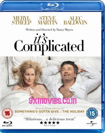 Its Complicated 2009 Dual Audio Hindi 720p BluRay 850mb